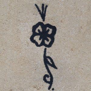 Décors teinté dans la masse Fleur - Deco facile a poser dans la Tarne (81)